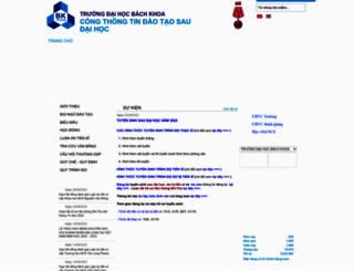 pgs.hcmut.edu.vn screenshot
