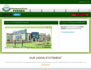 pgschool.unaab.edu.ng screenshot
