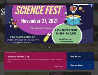 pgsciencecity.org screenshot