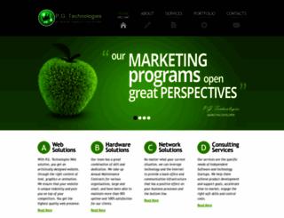 pgtechnologies.in screenshot