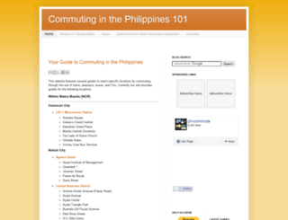 ph-commute.com screenshot