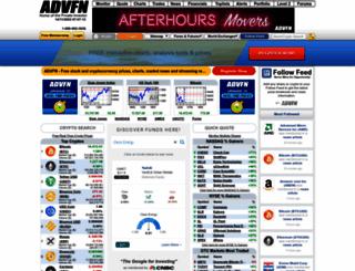 ph.advfn.com screenshot