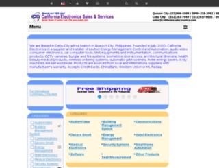 ph.california-electronics.com screenshot