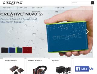 ph.creative.com screenshot
