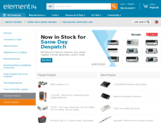 ph.element14.com screenshot