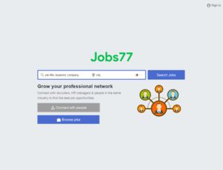 ph.jobs77.com screenshot