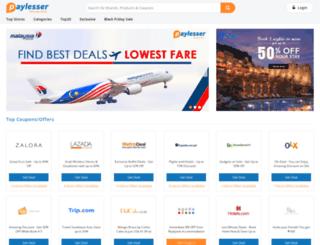 ph.paylesser.com screenshot