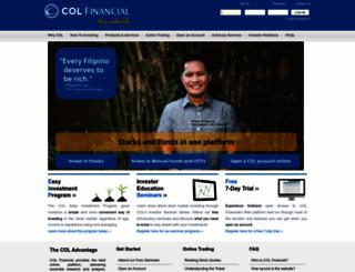 ph2.colfinancial.com screenshot