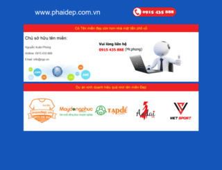phaidep.com.vn screenshot