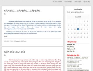phamdinhphuc.vnweblogs.com screenshot