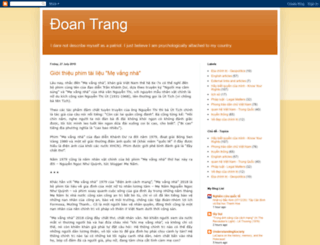 phamdoantrang.com screenshot