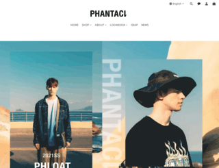 phantacico.com screenshot