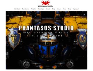 phantasos-studio.de screenshot