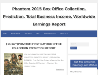 phantom2015boxofficecollection.co.in screenshot