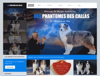 phantomes.com screenshot