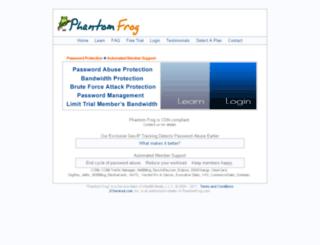 phantomfrog.com screenshot