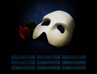phantomoftheopera.com screenshot