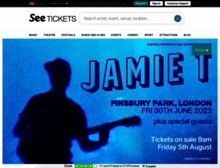 phantomoftheopera.seetickets.com screenshot