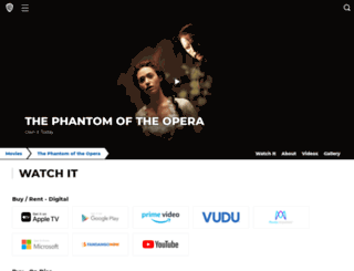 phantomthemovie.warnerbros.com screenshot