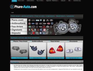 phare-auto.com screenshot