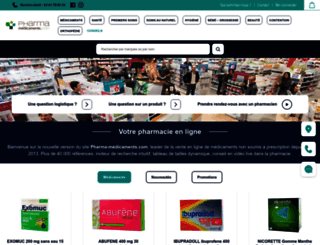 pharma-medicaments.com screenshot