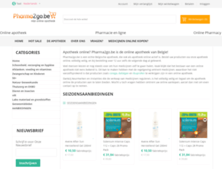 pharma2go.be screenshot