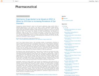 pharmaceutical-report.blogspot.in screenshot