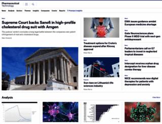 pharmaceutical.kableintelligence.com screenshot