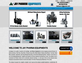 pharmaceuticalmachinemumbai.com screenshot