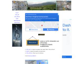 pharmacie.wifeo.com screenshot