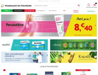 pharmaciepolygone.com screenshot