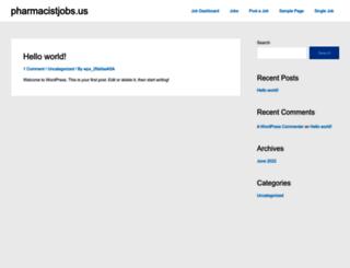 pharmacistjobs.us screenshot