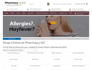 pharmacy-nz.com screenshot