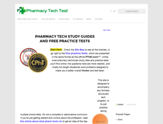 pharmacy-tech-test.com screenshot