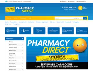 pharmacydirectau.resultspage.com screenshot