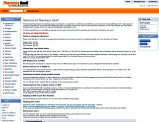 pharmacygeoff.md screenshot