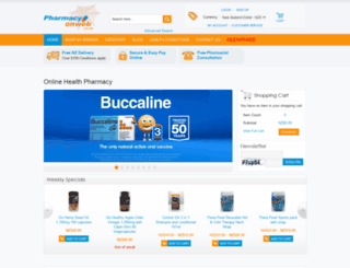 pharmacyonweb.co.nz screenshot