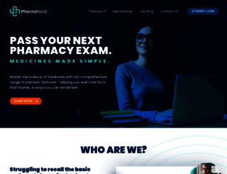 pharmafactz.com screenshot