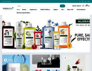 pharmaholic.com screenshot