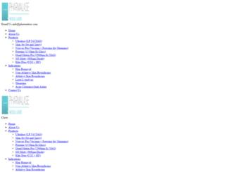 pharmalase.com screenshot