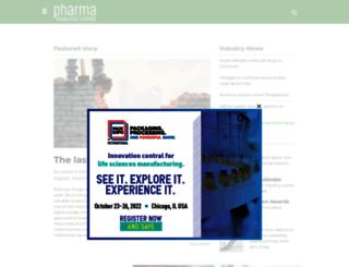 pharmamanufacturing.com screenshot
