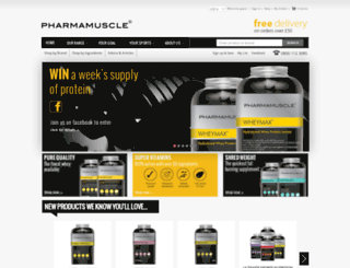 pharmamuscle.com screenshot