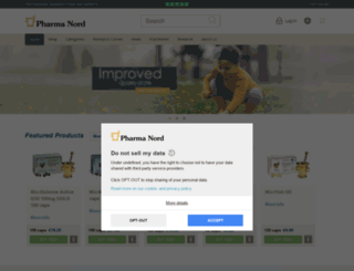 pharmanord.co.uk screenshot