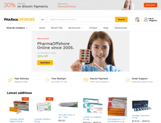 pharmaoffshore.com screenshot