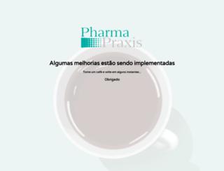 pharmapraxis.com.br screenshot