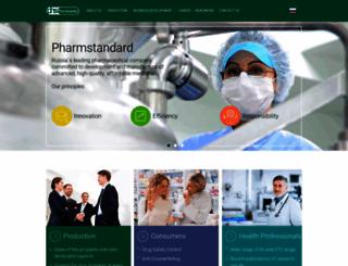 pharmstd.com screenshot