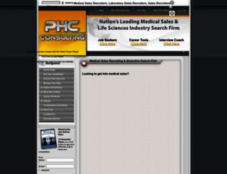 phcconsulting.com screenshot