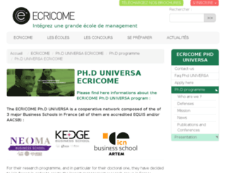 phd-universa.com screenshot