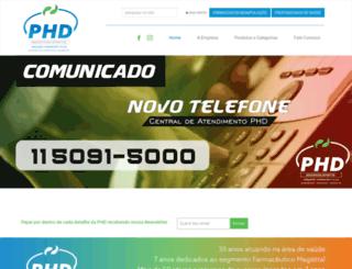 phdimport.com.br screenshot
