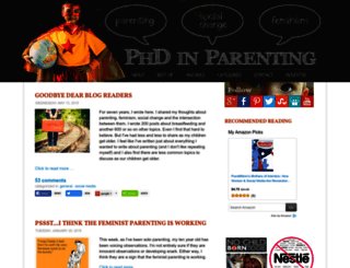 phdinparenting.com screenshot